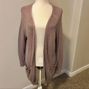 American Eagle Long Knit Cardigan
